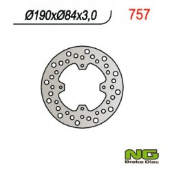 Rear brake disc NG Yamaha 80 YZ / YZ LW 1993 - 2001