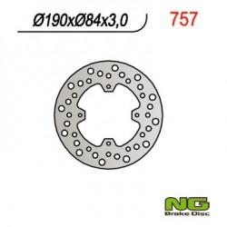 """Rear brake disc NG Yamaha 85 YZ 19"""" / 16"""" wheels 1993 - 2019"""