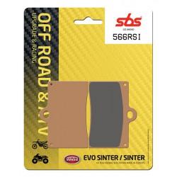 Front brake pads SBS VOR SM 530  2002 - 2004 směs RSI