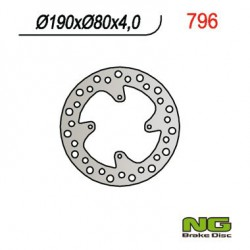 Rear brake disc NG Honda 80 CR R 1986 - 1995