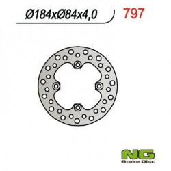 "Rear brake disc NG Kawasaki 85 KX I 17"" / 14"" / KX II 19""/ 16"" 2000 - 2019"