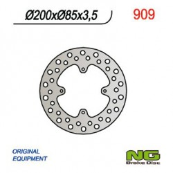 "Rear brake disc NG Suzuki 85 RM L 19"" / 16"" wheels 2005 - 2020"