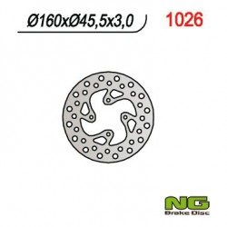 Rear brake disc NG KTM 65 SX 2T 8 / 12 years 1998 - 2020