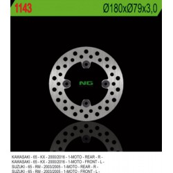 """Rear brake disc NG Kawasaki 65 KX 14"""" / 12"""" wheels 2000 - 2019"""