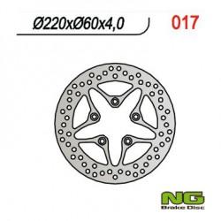 Rear brake disc NG Derbi 300 RAMBLA i 2010 - 2012