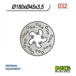 Rear brake disc NG Gas Gas 370 PAMPERA 1998