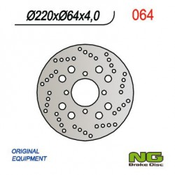 Rear brake disc NG Suzuki 150 BURGMAN 2002 - 2005