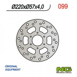 Rear brake disc NG Cagiva 50 SUPERCITY 1993 - 1995