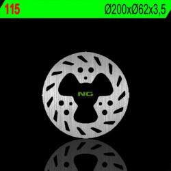 Rear brake disc NG Gas Gas 50 SM ROOKIE 2001 - 2002