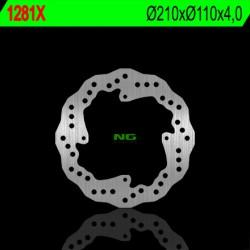 Rear brake disc NG KTM E FREERIDE E-SX 2012 - 2014