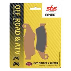 Front brake pads SBS Aprilia MXV 450  2009 - 2013 směs RSI