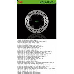 Rear brake disc NG Aprilia 1100 RSV V4 1100 FACTORY / RR 2011 - 2016