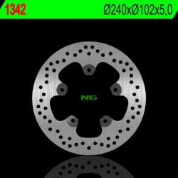 Rear brake disc NG Piaggio 350 BEVERLY GT i.e. 2014