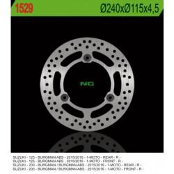 Rear brake disc NG Suzuki 200 BURGMAN UH ABS 2014 - 2019