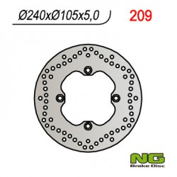 Rear brake disc NG Cagiva 1000 NAVIGATOR 2000 - 2006