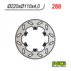 Rear brake disc NG Benelli 499 BX 2007