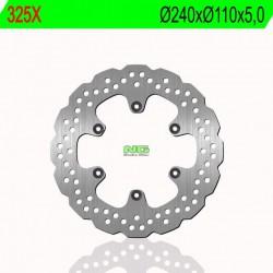 Rear brake disc NG Husqvarna 650 TR STRADA / TR TERRA 2012 - 2014