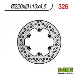 Rear brake disc NG Aprilia 350 ETX 1986 - 1992