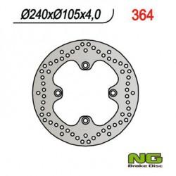 Rear brake disc NG Keeway 125 LOGIK 2008 - 2012