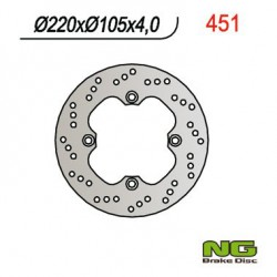 Rear brake disc NG Keeway 125 OUTLOOK 2008 -