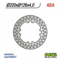 Rear brake disc NG Husqvarna 410 TE / TE E 2000 - 2001