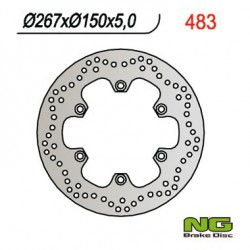 Rear brake disc NG Yamaha 1670 MT-01 2005 - 2006