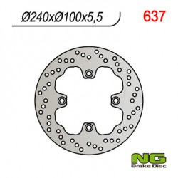 Rear brake disc NG Kawasaki 550 ZR ZEPHYR 1991 - 2001