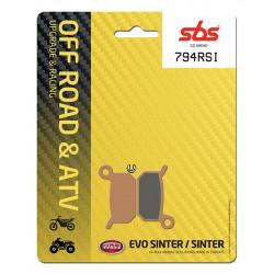 Front brake pads SBS KTM SX 50 Pro Senior LC 2004 - 2009 směs RSI