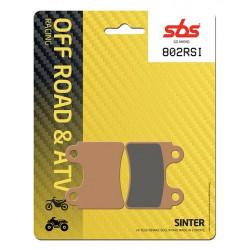 Front brake pads SBS Beta  80 Rev 2008 - 2010 směs RSI