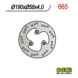 Rear brake disc NG Benelli 100 K2 / BIPOSTO / NAKED 1999 - 2002
