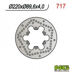 """Rear brake disc NG Benelli 125 VELVET 13"""" wheels 1999 - 2007"""