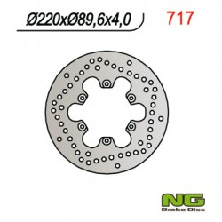 Rear brake disc NG Benelli 250 VELVET / VELVET TOURING 1999 - 2012