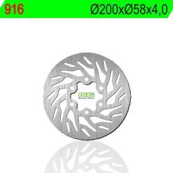 Rear brake disc NG Rieju 250 TANGO MOTARD 2008 - 2011