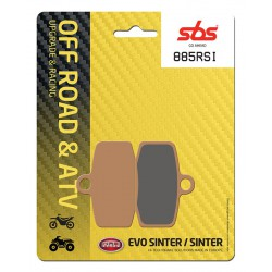 Front brake pads SBS Gas Gas TXT 280 (Formula cal.) 2012 směs RSI