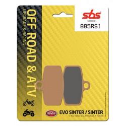 Front brake pads SBS Sherco ST 250 (Formula cal.) 2013 - 2014 směs RSI