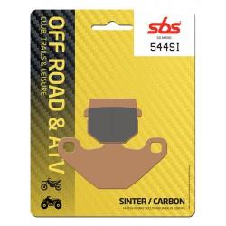 Front brake pads SBS Derbi DXR 250 Quad (Front disc) 2004 - 2007 směs SI