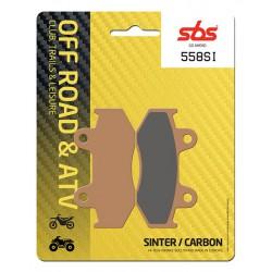 Front brake pads SBS Honda XR 350 R 1984 - 1985 směs SI