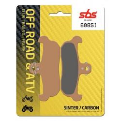 Front brake pads SBS Husaberg  350  1991 - 1992 směs SI