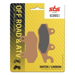 Front brake pads SBS Can-Am  1000 Commander MAX Left 2014 - 2016 směs SI