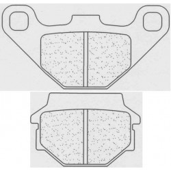 Front brake pads CL-Brakes ATV TGB/WINKING Target 325 2009-2011 type ATV1