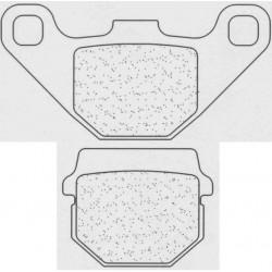 Front brake pads CL-Brakes HYOSUNG Avanti 50 1999-2007 type SC