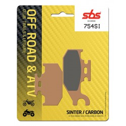 Front brake pads SBS Can-Am  400 Outlander MAX STD Left/Rear 2007 - 2013 směs SI
