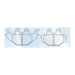 Rear brake pads CL-Brakes ATV TGB/WINKING Blade 425 2008-2011 type ATV1