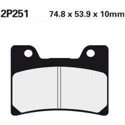 Front brake pads Nissin Yamaha V-MAX 1200 SPL,E,EC,F,FC,G, GC,H,HC,J,JC 1993 - 2003 type ST