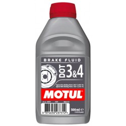 Motul Brake Fluid DOT 3 and 4 0,5L
