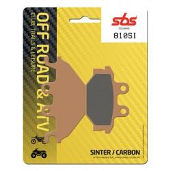 Front brake pads SBS Arctic Cat  300 DVX 2009 - 2016 směs SI