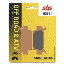 Front brake pads SBS Honda TRX 680 FA6 Rincon 2006 - 2015 směs SI