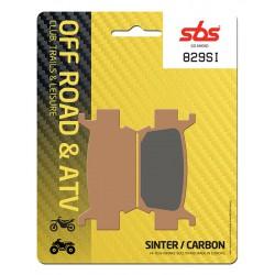 Front brake pads SBS Honda TRX 680 FGA6 Rincon 2006 - 2015 směs SI