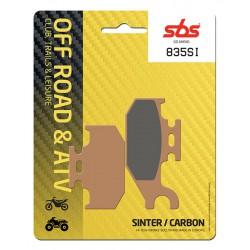 Front brake pads SBS Suzuki LT-A 700 King Quad Left 2005 - 2011 směs SI
