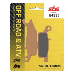 Front brake pads SBS Yamaha YFM 550 FGPW Grizzly Right 2009 - 2016 směs SI